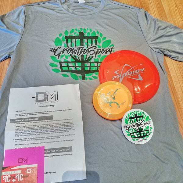 discstore discmemeber monthly subscription box