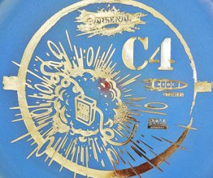 Arsenal Discs C4 putter disc golf