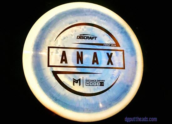 Discraft Paul McBeth Anax Review