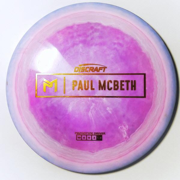 discraft anax paul mcbeth driver