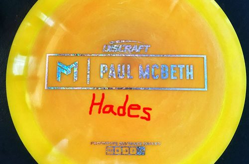 Discraft Hades Review Paul McBeth
