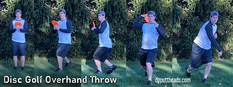 disc golf overhand thumber tomahawk